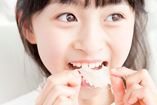 子どもの歯の矯正